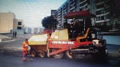 Dynapac. Колесный асфальтоукладчик F161-WD