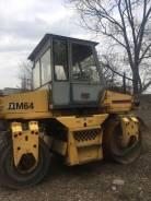 Завод ДМ DM64. Дорожный каток