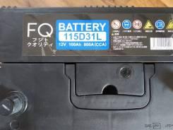 FQ Fujito Quality. 100А.ч., Прямая (правое), производство Япония