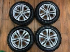 """Зимние колеса R18 для Nissan X-Trail оригинал. 7.0x17"""" 5x114.30 ET40 ЦО 66,1мм."""