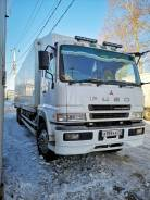 Mitsubishi Fuso Super Great. 1999 г. Рефрежератор, 12 020 куб. см., 14 000 кг., 6x2