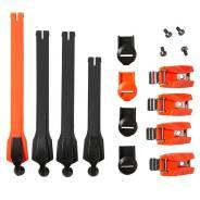 Стрепы к мотоботам с застежками Fox Instinct Strap/Buckle/Pass Kit Flow Orange (20365-824-OS)