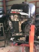 Suzuki. 70,00л.с., 4-тактный, бензиновый, нога L (508 мм), 2008 год