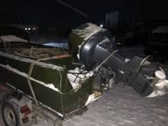 Казанка-5М4. 2004 год, длина 4,50м., двигатель подвесной, 115,00л.с., бензин