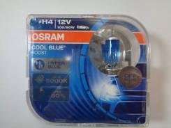 Лампа H4 12-100+90 P43t COOL BLUE Boost Hyper 5000K Osram