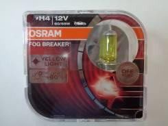Лампа H4 12-6055 P43T FOG Breaker (Eurobox, 2шт) Osram