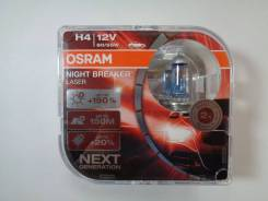 Лампа H4 12-60+55 P43t +150% Night Breaker Laser (Eurobox, 2шт) Osram