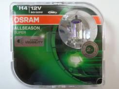 Лампа H4 12-60+55 P43t Allseasons Osram