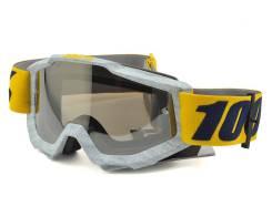 Кроссовые очки 100% Accuri Goggles (Athleto) (Mirror Silver Lens) 5021