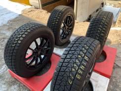 Bridgestone Blizzak DM-V2. зимние, без шипов, 2017 год, б/у, износ до 5%