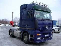 Mercedes-Benz Actros. 18.43 Mega Space 2002 г. Видео., 12 000 куб. см., 18 000 кг., 4x2