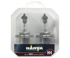 Лампа H4 12-60+55 P43t Range Power +90% (2шт) 12v Narva