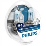Лампа H4 12-60+55 P43t White Vision Philips