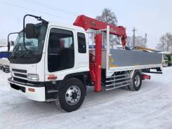 Isuzu Forward. Самогруз , 2003 г. в. стрела 5 тонн, 8 200 куб. см., 10 000 кг., 4x2