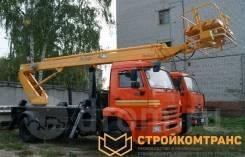 КамАЗ ПСС-131.22Э. Автогидроподъемник ПСС-131.22Э на базе Камаз 43253, 22,00м. Под заказ