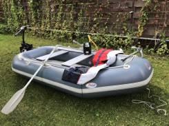 Надувная лодка+электромтор