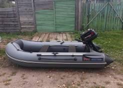 Лодка пвх profmarine + лодочный мотор 5лс