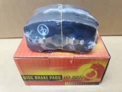 JBP0001 * Колодки тормозные, передние D0034