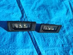 Фонарь подсветки номера Volkswagen Touareg 15г 3.6 FL