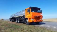 КамАЗ 65115. Молоковоз цистерна 12 000 литров на шасси Камаз 65115, 6x4