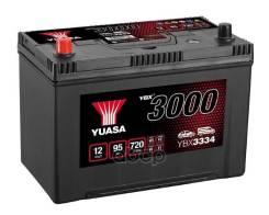 Аккумуляторная Батарея Smf[12v 95ah 720a B1] 304x174x225 Полярность 1 [+/-] D31 Jis Yuasa арт. YBX3334-090