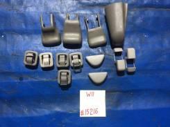 Накладка пластиковая креплений сидении