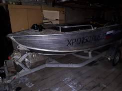 Wyatboat. 2016 год, длина 4,30м., двигатель подвесной, 20,00л.с., бензин