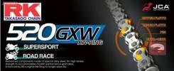 Цепь RK Japan 520 GXW120GB CLF (золотой)