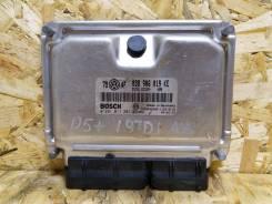 Блок управления двигателем (038906019KE) VW Passat B5 1.9TDI 2000-2005