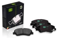 Колодки тормозные дисковые передние перед Trialli PF0806