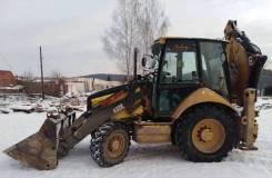 Caterpillar 432E. Экскаватор-погрузчик CAT432E, 9200м/ч , ремонт ДВС, новый ТНВД, колёса., 1,00куб. м.