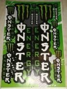 Комплект наклеек Monster