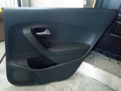 Обшивка двери задней правой VW Polo 2011-