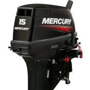 Двухтактный лодочный мотор Mercury 15MH в наличии