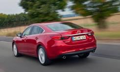 Уплотнитель двери задней левой Mazda 6 GJ 2012-2015 гг. б/п, ОТС,