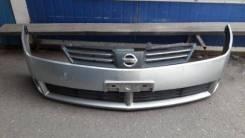 Бампер передний Nissan Wingroad серебро 2002-2005