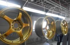 Пескоструйная обработка, покраска автомобильных дисков