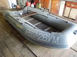 Продам лодку Адмирал 340 с мотором ямаха 15