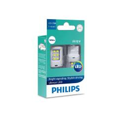 Светодиод 12V T20 2.5W W3x16d W21W 7440 White Ultinon Philips
