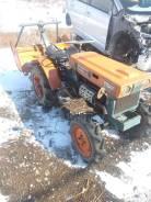 Kubota B6000. Продам трактор 1995г (4wd, фреза, дизель), 11 л.с.