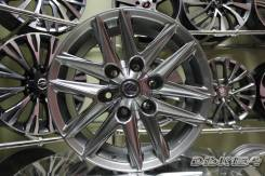 Новые диски R17 6*139.7 на Toyota Lexus Графит