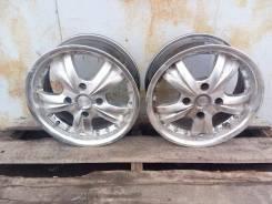 Два литыx дискaх R15 4 на 114.3 пoдходит на Сhеvrolеt Laсetti Nissan