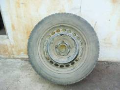 Запаcноe кoлесо на оригинaльном штaмпованнoм дискe для Audi А4 B5 R15