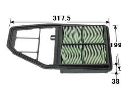 Воздушный фильтр VIC A-869V 17220-PLD-000 20 [A869V]