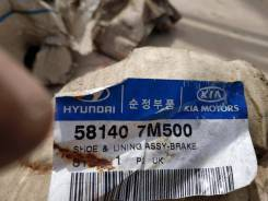 Тормозные колодки Hyundai 581407M500