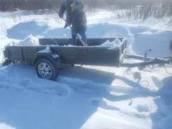 Прицеп самодельный под снегоход 1,20 на 3м