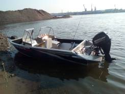 Windboat. 2018 год, длина 4,50м., двигатель подвесной, 50,00л.с., бензин
