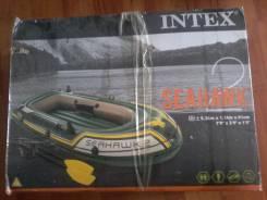 Intex Seahawk. 2019 год, длина 2,36м., двигатель без двигателя