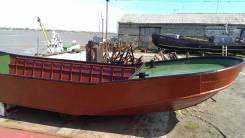 Щелевик для работы на ставных неводах, транспортировка рыбы-сырца