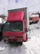 Isuzu ELF кабина откидная 24V двигатель 4BG1 В Разбор